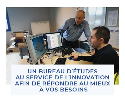 Bureau d'études, service innovation